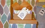 gift boxes with tag says JUST FOR YOU
