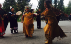 Squamish and Lil'wat Nation dancers