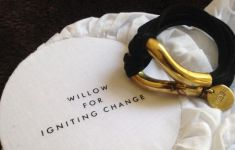Willow for Igniting Change bracelet made from land mines and bullets