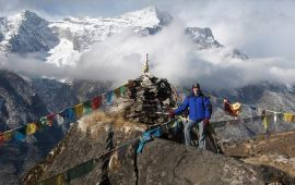 Nora Livingstone on Everest in Nepal