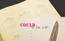 to do list with pen and calendar