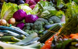 Assorted colorful vegetables
